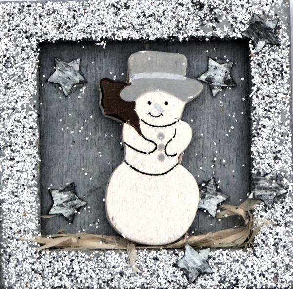 Weihnachtsbilderschneemann